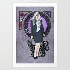 Queen of Air and Darkness Art Print