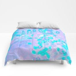 Pastel Amoeba Comforters