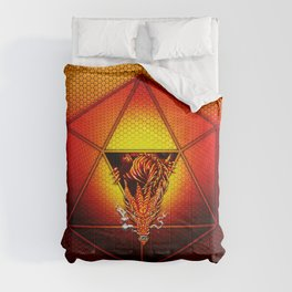 d20 Lucky Dragon Comforters