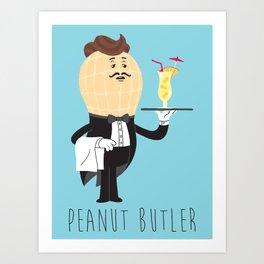 Peanut Butler Art Print