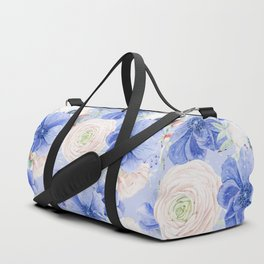 Blue Summer Night Duffle Bag