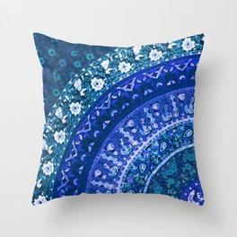 Ditsy Mandala Throw Pillow