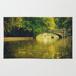 Rowing by nature Rug