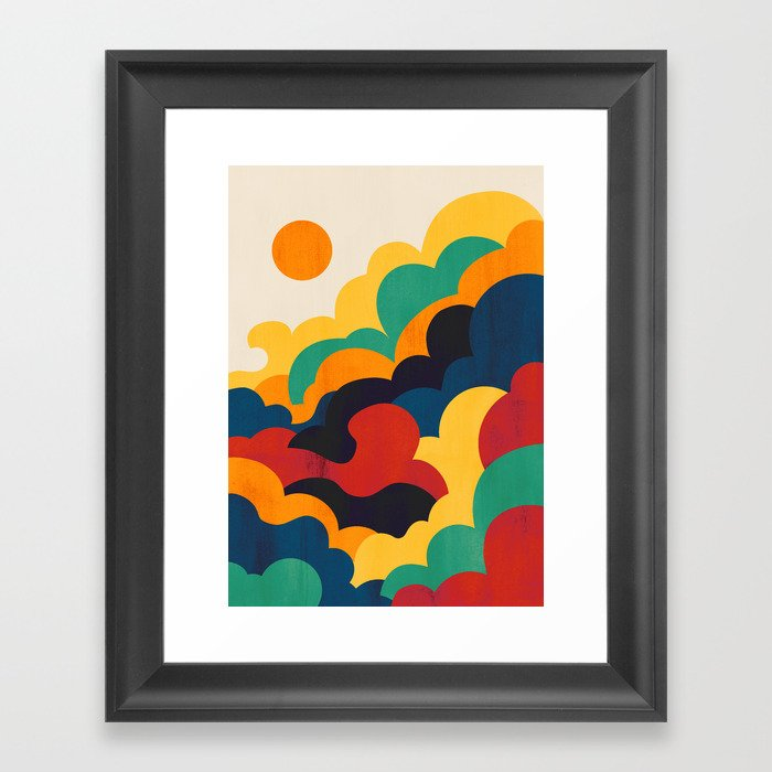 Cloud nine Gerahmter Kunstdruck