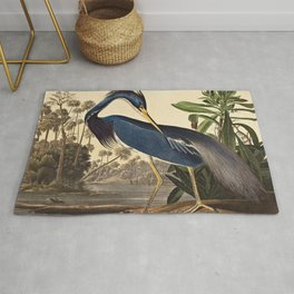 John James Audubon - Louisiana Heron Rug