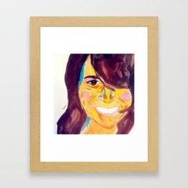 Ange #facesilove Framed Art Print