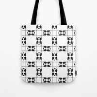 terrier Tote Bags featuring Terrier by Janae Hall