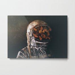 Inward Metal Print