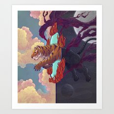 Ring of Fire Art Print
