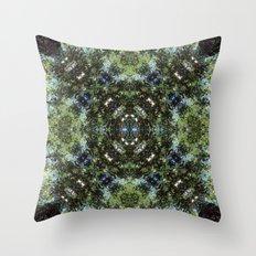 Reflection Kaleidoscope Throw Pillow