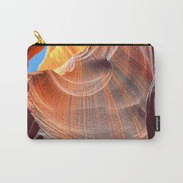 Geology Alive - Time Passage of Upper Antelope Canyon Carry-All Pouch