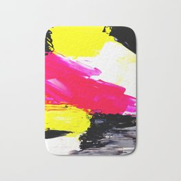 Funky colors abstract Bath Mat