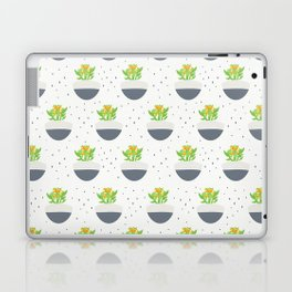 Potted Kalanchoe Plant Mom Pattern Laptop & iPad Skin