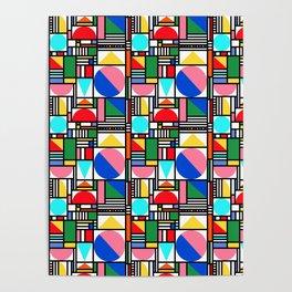 Bauhaus Village Poster