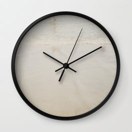 playing in the waves ... Wall Clock