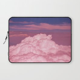 Pink Cotton Candy Clouds Laptop Sleeve