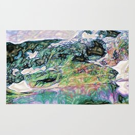 Mountains' Lullaby Rug