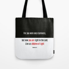 Children of Light Tote Bag