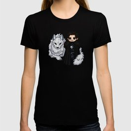 Snow and Ghost T-shirt