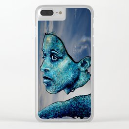 AFRICAN QUEEN Clear iPhone Case