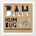 Bah Humbug! - Christmas Card by madiillustration