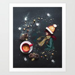 Sweet hat Art Print