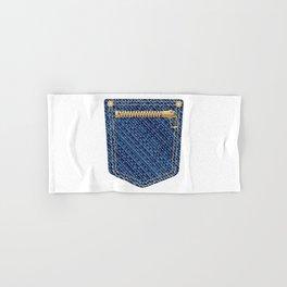 Zipper Pocket Hand & Bath Towel