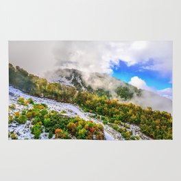 Autumn in Mountains Rug