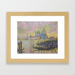 Grand Canal (Venice) - Paul Signac Framed Art Print