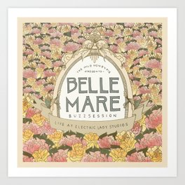 Belle Mare Buzzsession Cover Art Art Print
