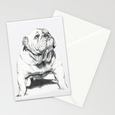 Dogs: Bull Dog Stationery Cards
