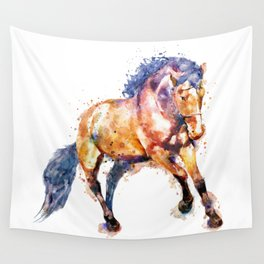 Running Horse Wall Tapestry