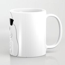 Basset Hound and Hedgehog Coffee Mug