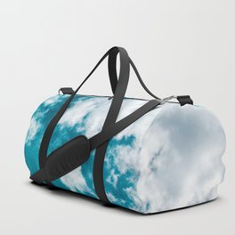 Sky Blue - Clouds Skyscape Photography Duffle Bag