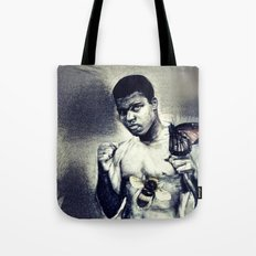 Ali- Float like a Butterfly sting like a bee Tote Bag