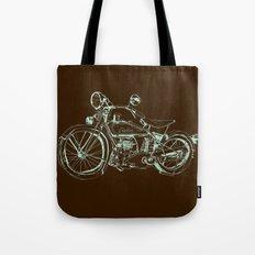 Vintage Indian Motorcycle Tote Bag
