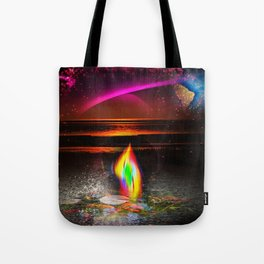 Our world is a magic - Sunset Tote Bag