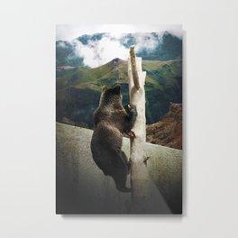 Over the wall Metal Print