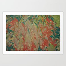 Marble Print #4 Art Print