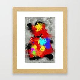 EXPERIMENTO DE CABEZA Framed Art Print