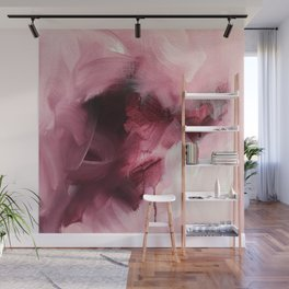 Maroon 1 (Color Study) Wall Mural
