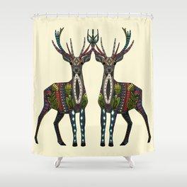 deer vanilla Shower Curtain