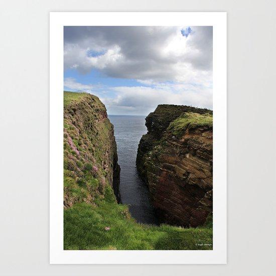John O Groats Scotland Art Print