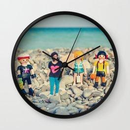 My little world Wall Clock