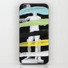 Untitled (Finger Paint 8) iPhone & iPod Skin