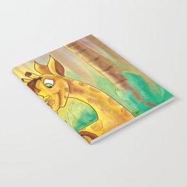 Animal Best Friends - Monkey and Giraffe  Notebook