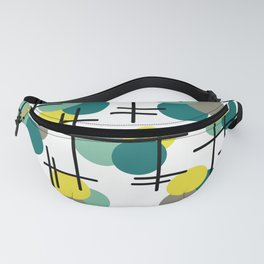 Atomic Age Molecules Fanny Pack