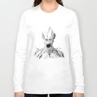 groot Long Sleeve T-shirts featuring Groot by Myths