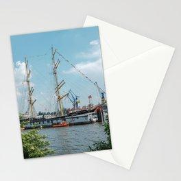 Bark Kruzenshtern in Hamburg Stationery Cards