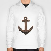 anchors Hoodies featuring Anchors Away! by eMJay Digital Art